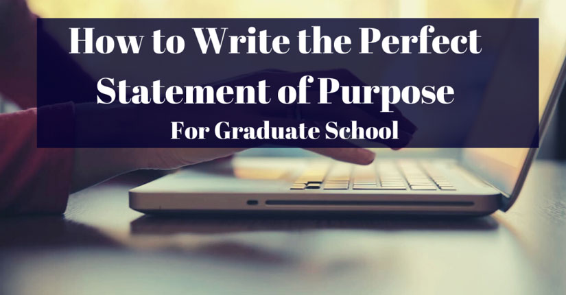 Tips for Writing A Perfect Statement of Purpose